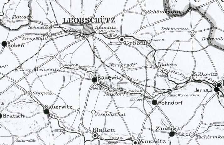 oppeln oberschlesien landkarte